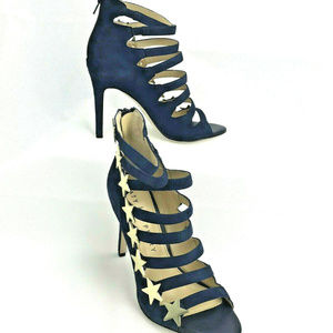 Katy Perry The Stella Navy Suede Stiletto Heels